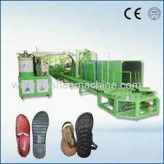 pu footwear manufacturing machine new