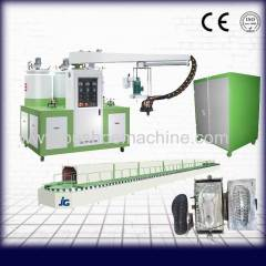 pu foaming machine shoe making machine