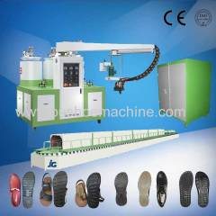 PU Double density sole moulding machine