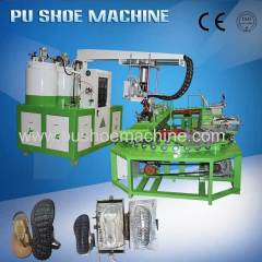 Semi Automatic PU Shoe (sole) Pouring Machine