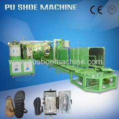 JG brand PU Shoemaking moulding machine for sandals