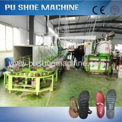 polyurethane sandal making machine