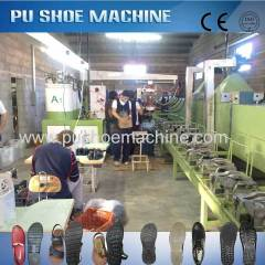 High Quality PU Shoe Make Machine India