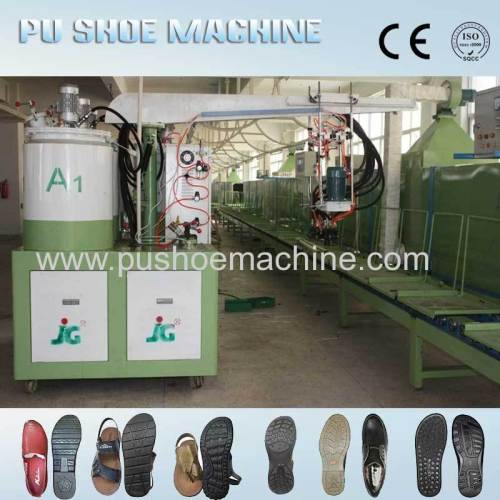 Computer Control polyurethane slippers machine