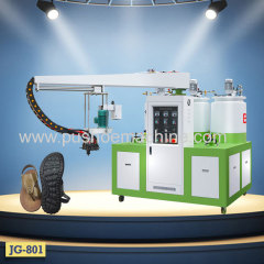 Auto JG PU Sole and shoe Machine