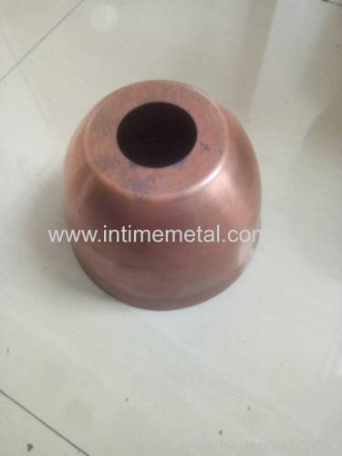 copper machining spinning parts