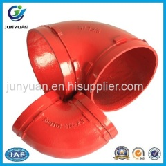 Grooved Fitting 90 Degree Elbow