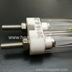 Quartz glass heating elements for glass printing