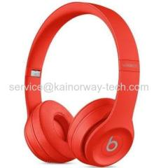 Wholesale Beats Solo3 Red Wireless Foldable On-Ear Bluetooth Headphones Special Edition