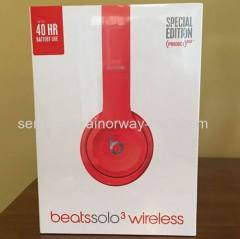 Beats by Dr.Dre Beats Solo3 Wireless Headband Headphones With RemoteTalk Special Edition Citrus Red