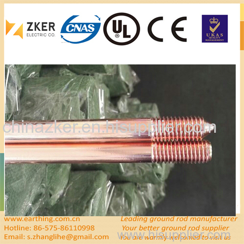 extensively used copper clad steel grounding rod