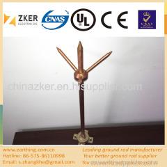 safe and reliable copper lingtning arrestor