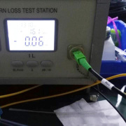 FTTH patch cable assembly workshop