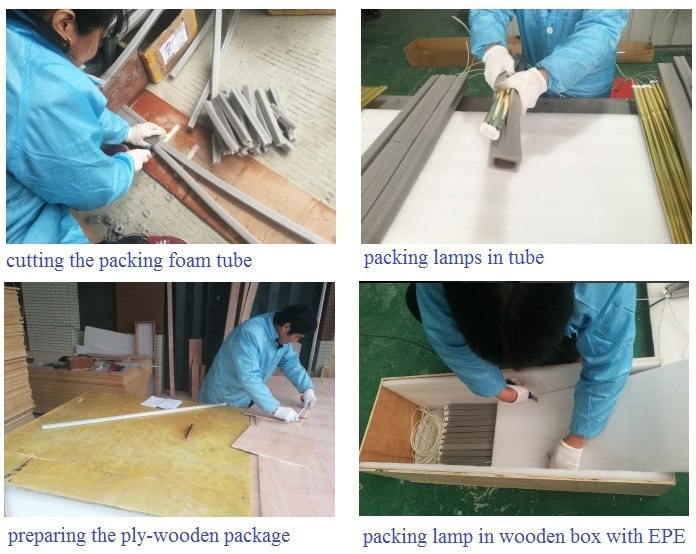 packing - the final step in lamp production