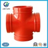 Ductile Iron Pipe Fitting of Threaded Cross Joint Pipe Fitting