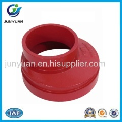 Grooved Eccentric Reducer Grooved Pipe Fitting
