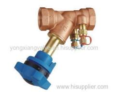 951 fixed double regulating valve