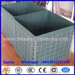 galvanized military bunker hesco barrier