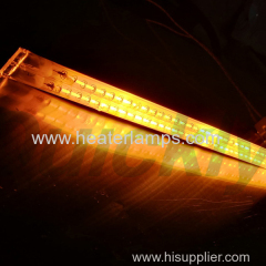 tubular short wave infrared heat lamps
