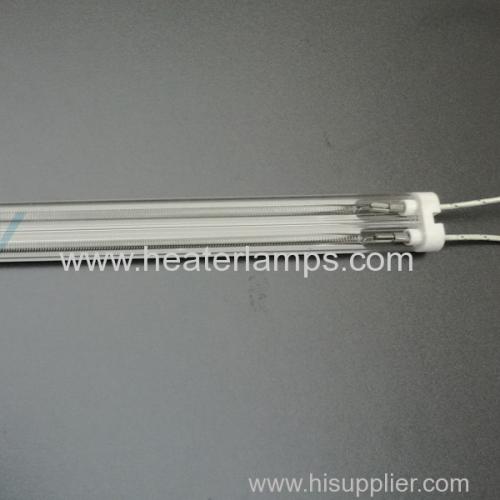 white coating quartz heater for printing dryer