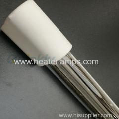 white coating quartz medium wave ir heaters