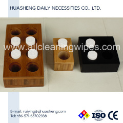 tablet compressed towel wood box