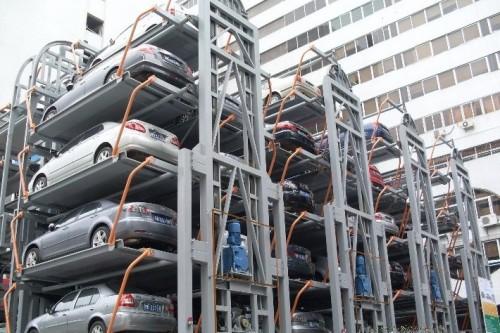 Intelligent circulation parking equipment