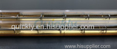 Shortwave double element quartz IR heater