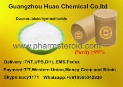Dark Red Crystals Anticancer Raw Powders Daunorubicin hydrochloride CAS:23541-50-6