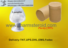 Yellow Wax Lanolin CAS:8006-54-0 prevents drying and chapping of the skin
