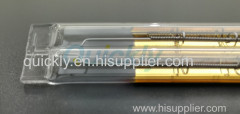Double shortwave IR emitter infrared lamps