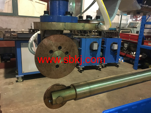 round welding making machine