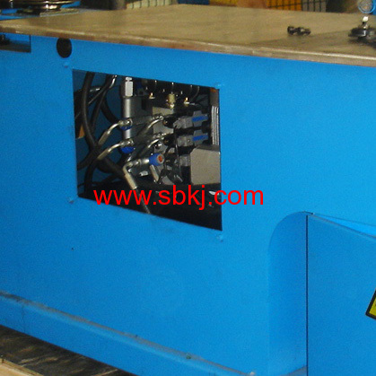 Round duct elbow making machine