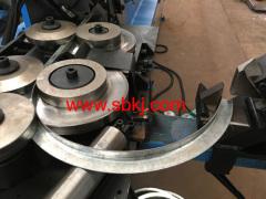 round flange forming machine