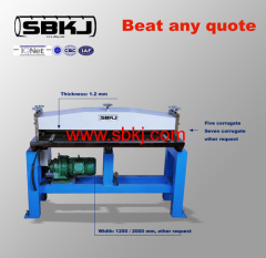 Five line Bending grooving machine