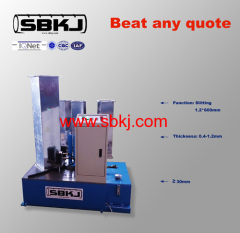 Hydraulic corner binding tube forming machine