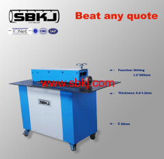 1.2*600mm power slitting and beeline machine