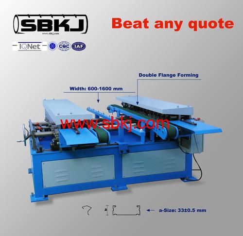 TDF Flange Forming Machine