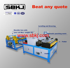 HVAC Auto Production Line Rectangular