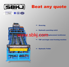 Rectangular Hvac Duct Making Machine