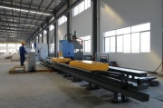 Fully-automatic side beam production line