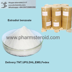 99% Raw Steroid Powders Estradiol Benzoate CAS:734-32-7 White solid