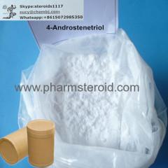 원시 스테로이드 분말 4-Androstenetriol 흰색 결정 성 분말
