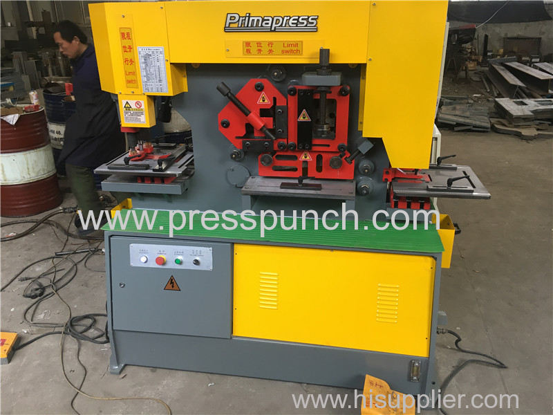 Q35Y 20 Hydraulic iron working machine exported to Poland