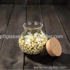 Heat Resistant Borosilicate Glass Container