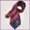 Factory no MOQ Free Sample Jacquard Custom Stripe Silk Necktie