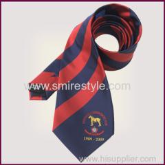 jacquard custom stripe silk necktie