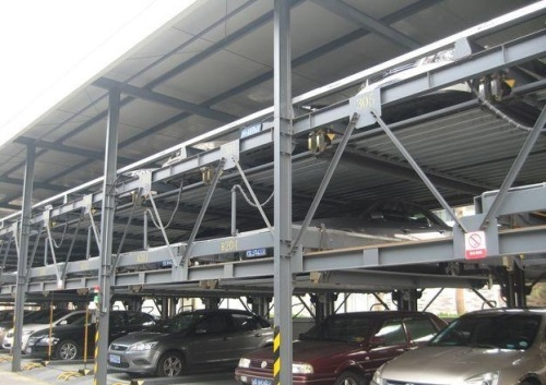 Automatic Underground Car Parking Lift