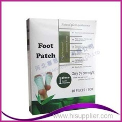 Detox foot patch factory Fabriqué en Chine Foot Pads