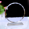 Round Shaped K9 crystal award for custmoized souvenir